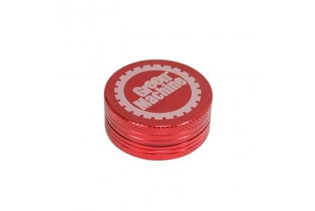 2 Part Green Machine Grinder 40mm - Red