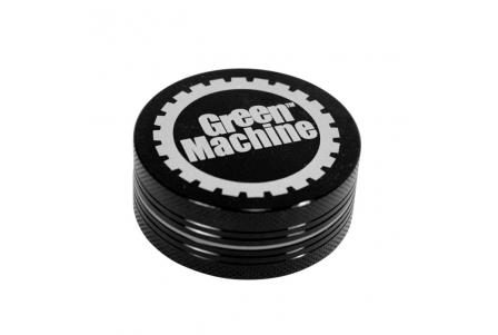 2 Part Green Machine Grinder 50mm - Black