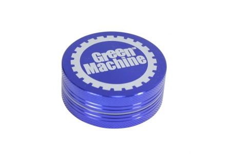2 Part Green Machine Grinder 50mm - Blue