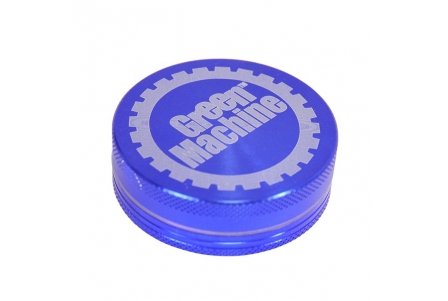 2 Part Green Machine Grinder 55mm - Blue