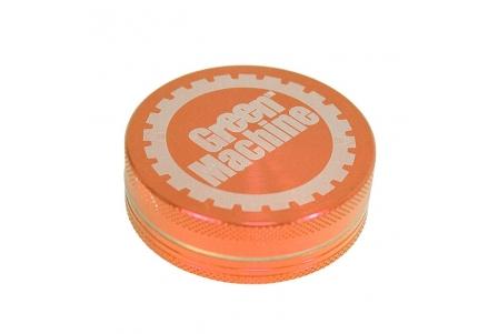 2 Part Green Machine Grinder 55mm - Orange