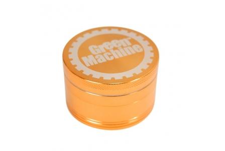 4 Part Green Machine Grinder 50mm - Orange