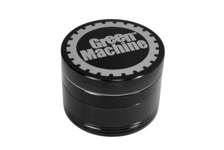 4 Part Green Machine Grinder 55mm - Black
