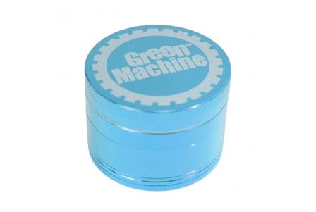 4 Part Green Machine Grinder 55mm - Teal (Light Blue)