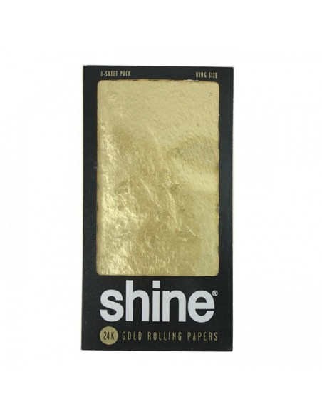Shine 24K - Gold Rolling Papers - KS - 1 pc