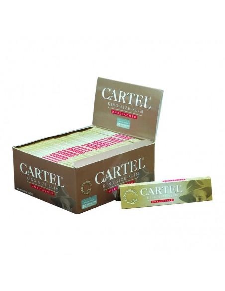 CARTEL Rolling Papers KS Unbleached BIO (display of 50)