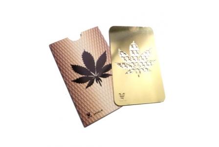 Golden Grinder Card - Leaf