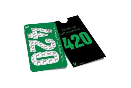 Multi-Colour Grinder Card - 420