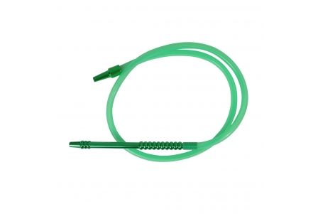 Silicone Hose with Mouthpiece - 190cm - Green