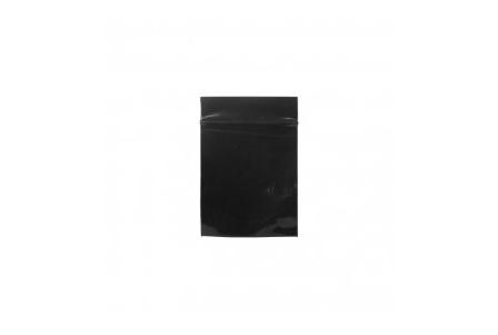 Coloured ZipLock Baggies 55 x 65 mm - Black - 1000 units