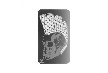 Classic Grinder Card - Mohawk Skull