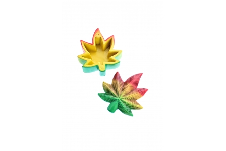 MM Magnetic Box -Rasta Leaf! (Box of 3 units)