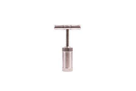 All Stainless Steel Pollen Press - 85mm