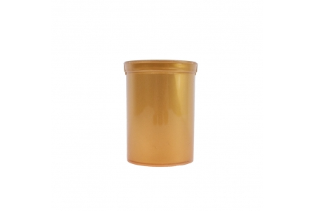 Pop Top Container Gold - 30 drams - 120ml (Pack of 50)