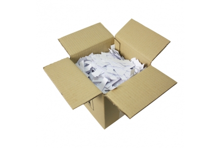 White Bulk Filter Tips - Box of 5kg