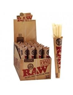 Raw Cones 1/4 (32 units of 6 cones)