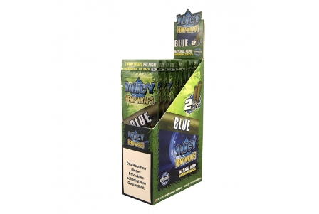 MM Juicy Hemp Wraps - Blue (2x25 per box)