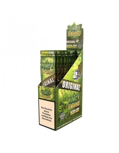 Juicy Hemp Wraps - Original (2x25 per box)