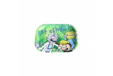 Metal Rolling Tray - Get Schwifty - Small