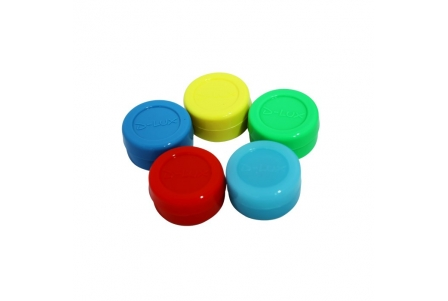 Silicone Jar - Assorted Colours (Bag of 5 units)
