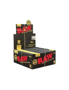 Raw Black KS Slim - Display of 50
