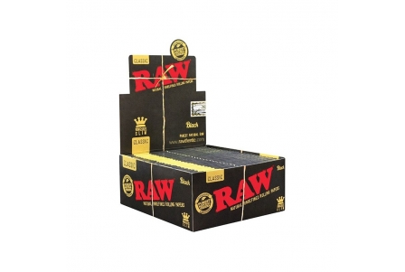 Raw Black KS Slim - 50 Booklets