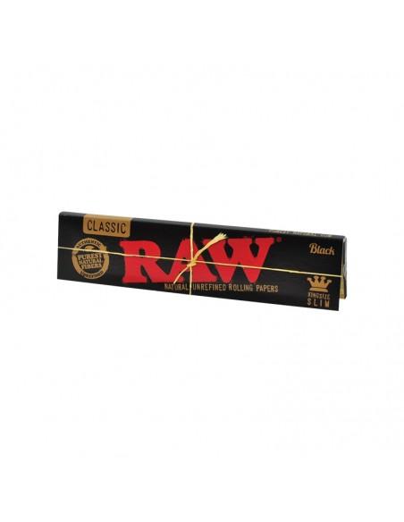 Raw Black KS Slim - Display of 50