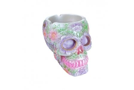 Mexican Skull Ashtray with LED