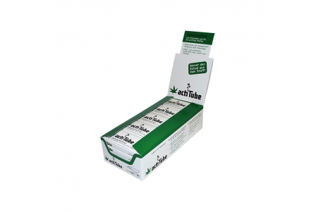 actiTube - Display of 25 Boxes of 10 Filters