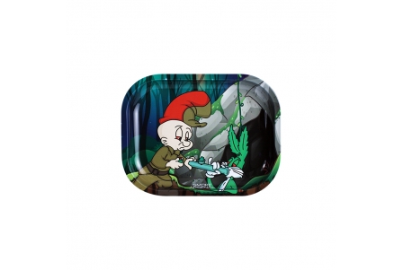 Metal Rolling Tray - Budzbunny 2 - Small