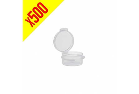 Acrylic Container with Attached Cap 5ml - Box of 500