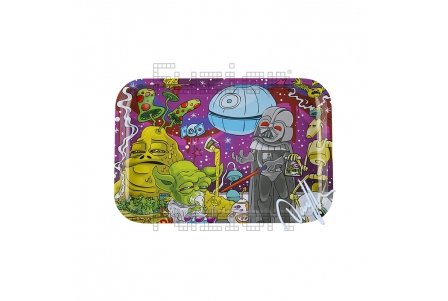 Dunkees Rolling Tray - Dab Wars - 30x20cm