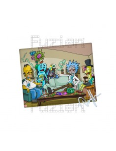 Dunkees Impossible Task Canvas Print - 20x25cm