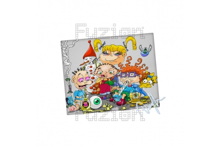 Dunkees Kids Will Be Kids Canvas Print - 20x25cm