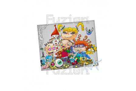 Dunkees Kids Will Be Kids Impresión en Lienzo - 20x25cm