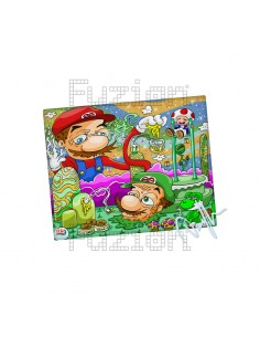Dunkees Candy Land Canvas Print - 20x25cm