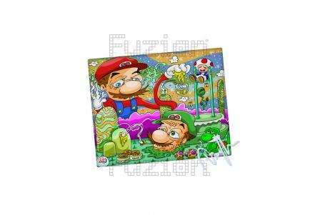 Dunkees Candy Land Impresión en Lienzo - 20x25cm