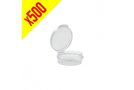 Acrylic Container with Attached Cap 10ml - Box of 500