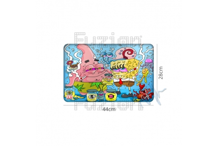 Dunkees Silicone Mat Wax Dreams - 44x28cm