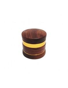 HQ 4 Part Rosewood Flower Grinder - 60x60mm