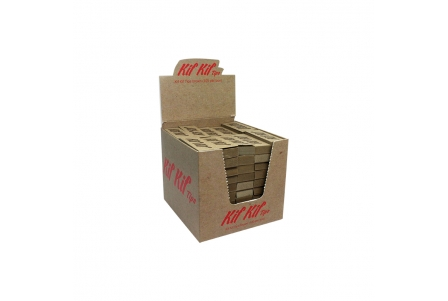 Kif Kif Brown Filter Tips - 100 per Box