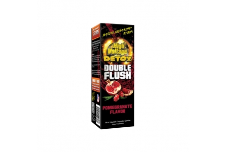 High Voltage Pomegranate Double Flush 16oz & Capsules