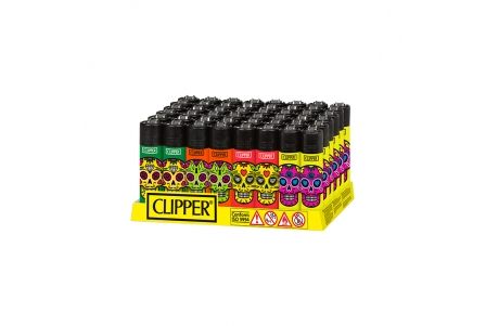CLIPPER Classic Skull Mix 1 - Display of 48