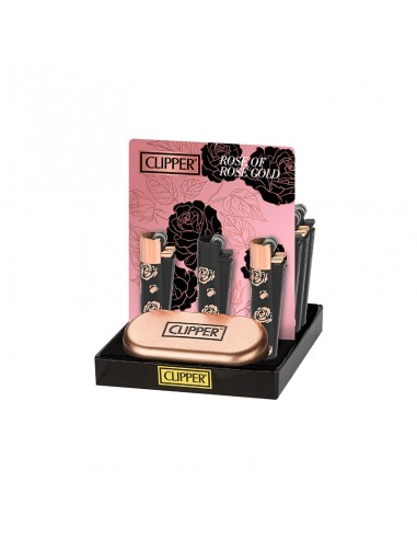 Clipper Metal - Rose of Gold - Display of 12