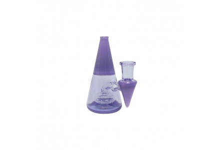Mini Pyramid Rig 11cm - Purple