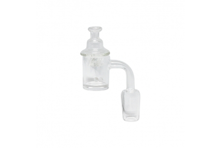 Swirl Quartz Banger Set - Male 19mm