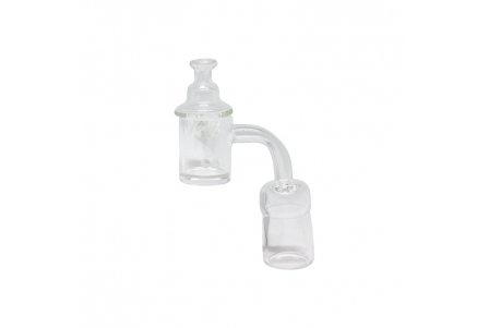 Swirl Quartz Banger Set - Female 19mm