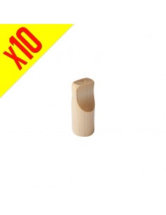 Small Wooden Tip - Pack of 10