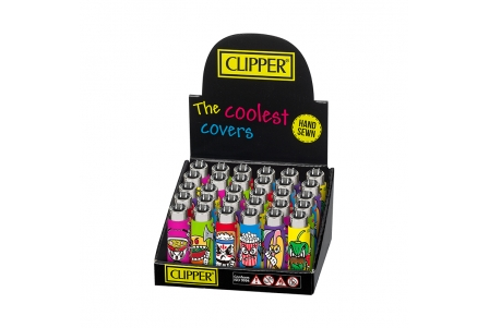 Funky Cover CLIPPER Fighter Food - Display of 30
