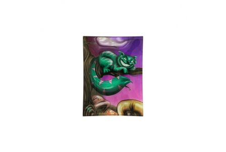 Glass Rolling Tray - Cheshire Cat - S 16x12cm